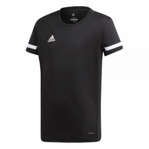 adidas - T19 S/S Tee Youth Girls black/white