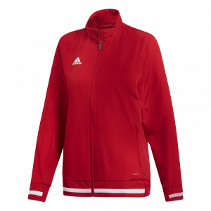 adidas - T19 Woven Jacket Women red/white