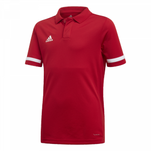 adidas - T19 Polo Youth Girls red/white