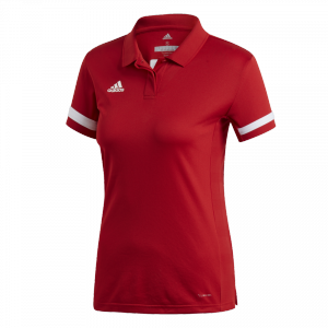 adidas - T19 Polo Women red/white