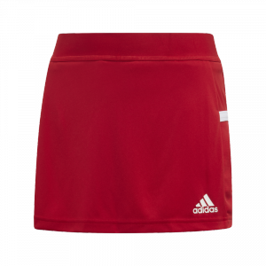 adidas - T19 Skort Youth Girls red/white